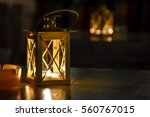 Candle Lanterns In The Night ...