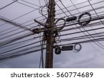Electric Poles And Electric...
