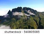 Landscape Of La Reunion Island...