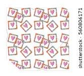 hand drawn envelopes for letters | Shutterstock . vector #560806171