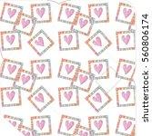 hand drawn envelopes for letters | Shutterstock . vector #560806174