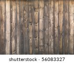 High Resolution Old Wooden Wal...
