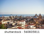 alicante city view | Shutterstock . vector #560835811