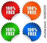 100 Free Sticker