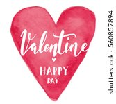 heart  valentines day... | Shutterstock .eps vector #560857894