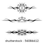 vector design elements | Shutterstock .eps vector #56086612
