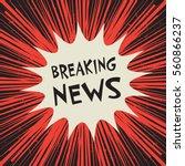 comic explosion business... | Shutterstock .eps vector #560866237