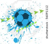 soccer design element | Shutterstock .eps vector #56091112