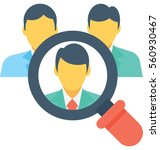 find job vector icon | Shutterstock .eps vector #560930467