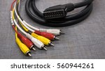 Audio Video Cable. Scart Cable...