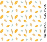 vector seamless pattern with... | Shutterstock .eps vector #560944795