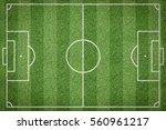 soccer field  football field | Shutterstock . vector #560961217