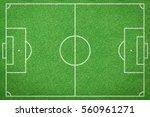 soccer field  football field | Shutterstock . vector #560961271