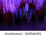 magic lights | Shutterstock . vector #560966401