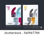 business vector. brochure...   Shutterstock .eps vector #560967784