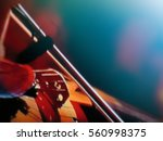 abstract blurred image. actor... | Shutterstock . vector #560998375