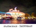 bokeh background of classic... | Shutterstock . vector #560998669