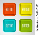 web rounded button for website... | Shutterstock .eps vector #561015379