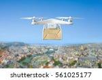 technological shipment... | Shutterstock . vector #561025177