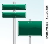 direction signs | Shutterstock .eps vector #56103505