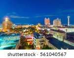 top view of downtown san... | Shutterstock . vector #561040567