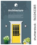 elements of architecture  ... | Shutterstock .eps vector #561042385