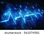 medical abstract background | Shutterstock . vector #561074581