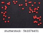 Valentine Day Background With...