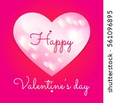 valentines day. vector icon...   Shutterstock .eps vector #561096895