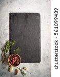 Black Slate Board  Herbs And...