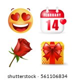 Cute Valentine\'s Day Elements...