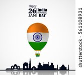 india republic day celebration. ... | Shutterstock .eps vector #561108931