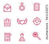 vector illustration of set... | Shutterstock .eps vector #561122071
