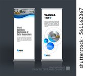 abstract business vector set of ... | Shutterstock .eps vector #561162367