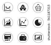 set of 9 editable analytics...