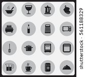 set of 16 cook icons. includes...