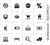 set of 16 business icons....