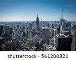 new york city  usa   circa... | Shutterstock . vector #561200821