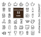 outline web  mono symbol ... | Shutterstock .eps vector #561206437