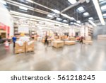 blurred customers shopping in... | Shutterstock . vector #561218245