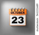 calendar icon  orange. isolated ...