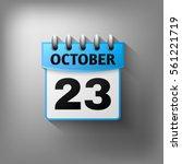 calendar icon  sky blue color....   Shutterstock . vector #561221719