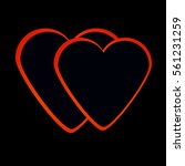 heart  | Shutterstock .eps vector #561231259