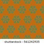 geometric shape abstract vector ... | Shutterstock .eps vector #561242935