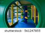 indoor kids playground | Shutterstock . vector #561247855