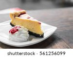 Raspberry Cheese Cake With...
