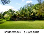 garden and villa | Shutterstock . vector #561265885