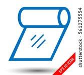 tissue icon. tissue sign.... | Shutterstock .eps vector #561275554