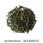 Heap Of Dried Leaves Green Tea...
