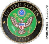 Us Army Symbol Version 2 Carve...